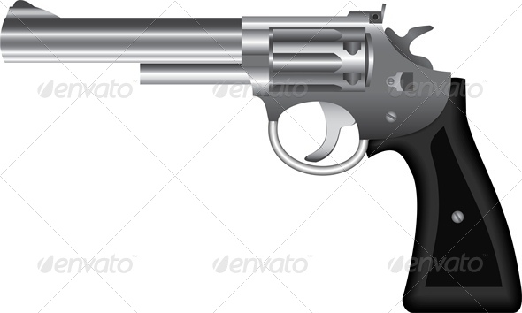 GraphicRiver Metal Revolver 4686969
