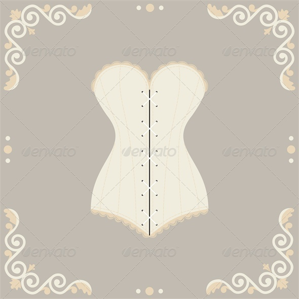 GraphicRiver Lace Mannequine and Corset 4687106