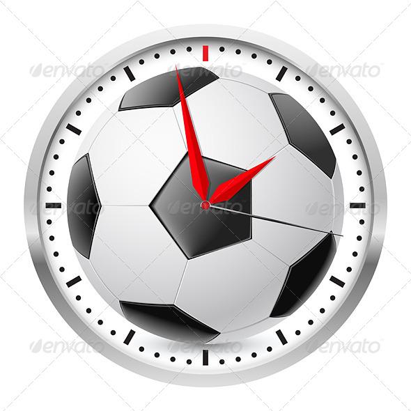 GraphicRiver Sports Wall Clock 4687660