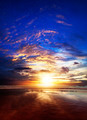 Amazing sunset over the sea - PhotoDune Item for Sale