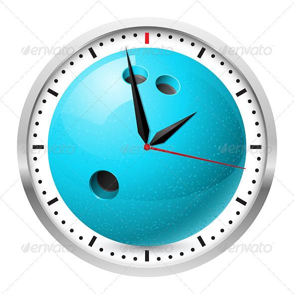 GraphicRiver Sports Wall Clock 4689057