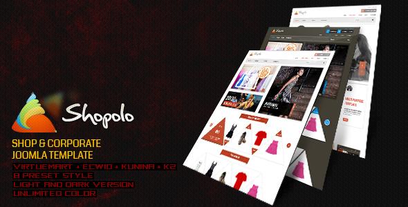 ThemeForest Shopolo Responsive Joomla Shopping Template 4682252