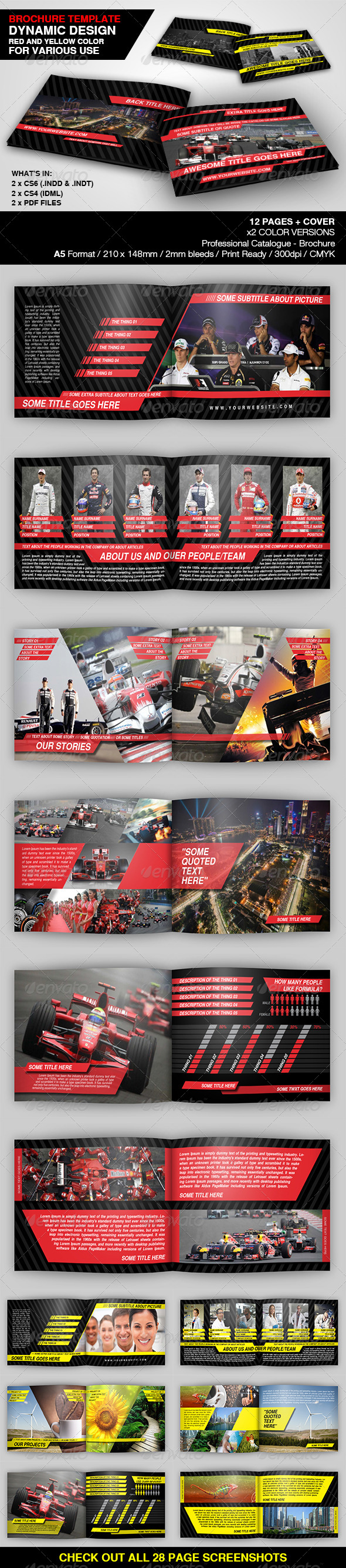 GraphicRiver Dynamic Brochure Template 4689124