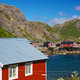 Fishing huts in Nusfjord - PhotoDune Item for Sale
