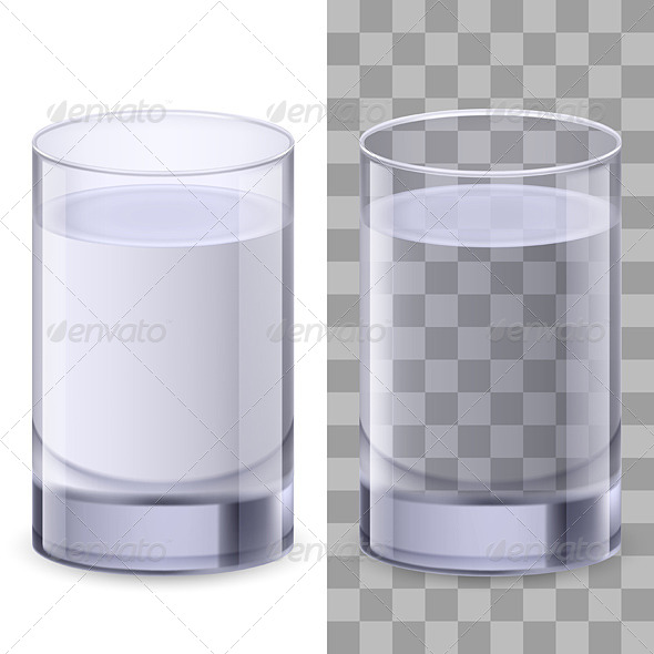 GraphicRiver Glasses of Water 4690224