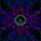 Music speaker on a kaleidoscope background - PhotoDune Item for Sale