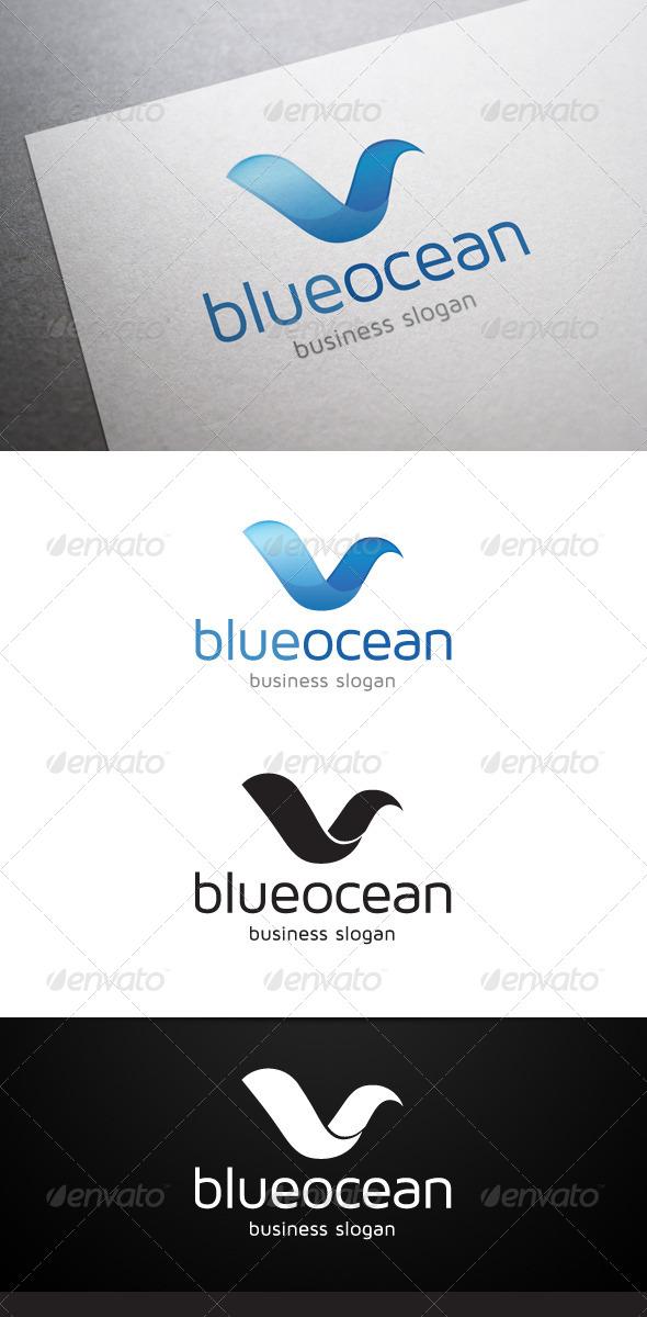 GraphicRiver Blue Ocean Logo 4690287