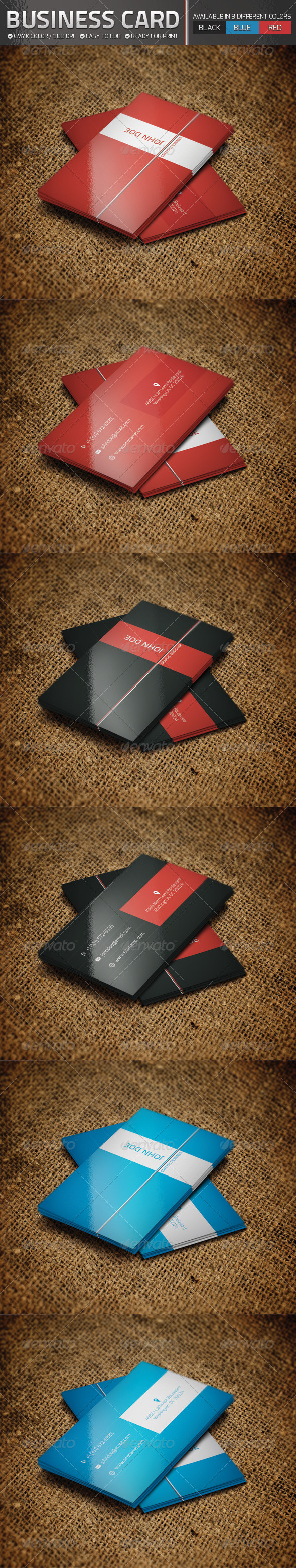 GraphicRiver Business Card Set 4690352