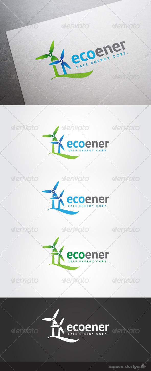GraphicRiver Ecoener Logo 4690414