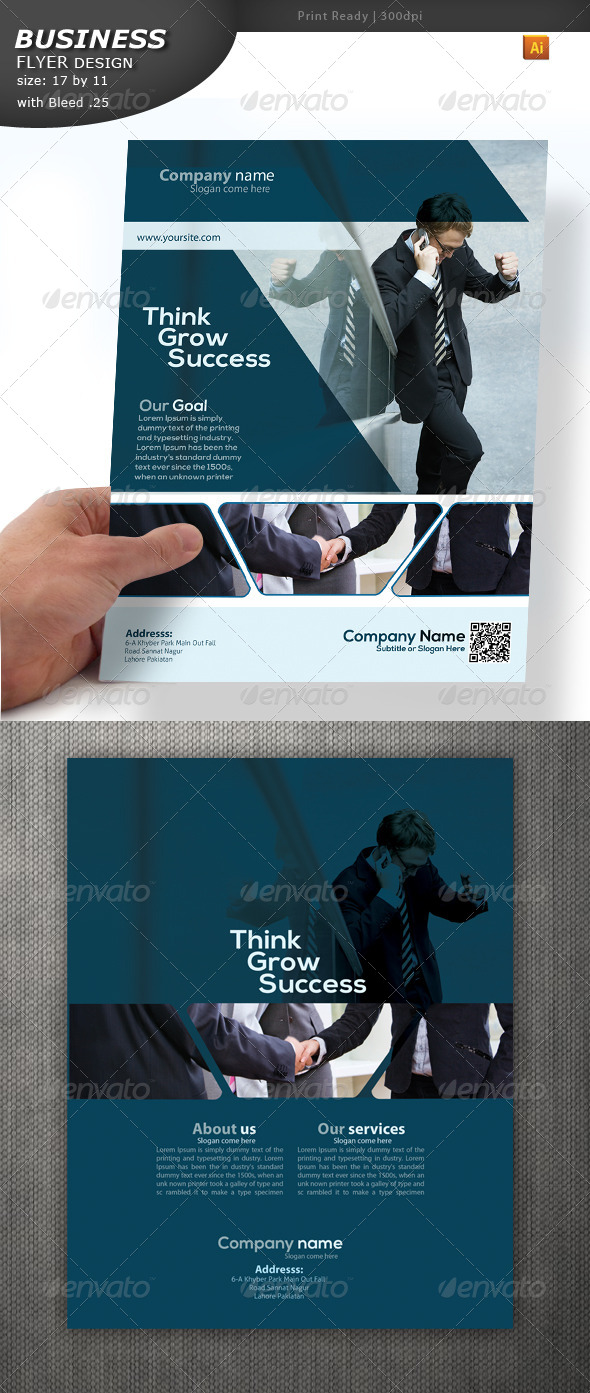 GraphicRiver Business Services Flyer 4616310