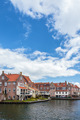 View at the ancient Dutch city Enkhuizen - PhotoDune Item for Sale