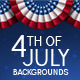4th of July Backgrounds - GraphicRiver Item for Sale