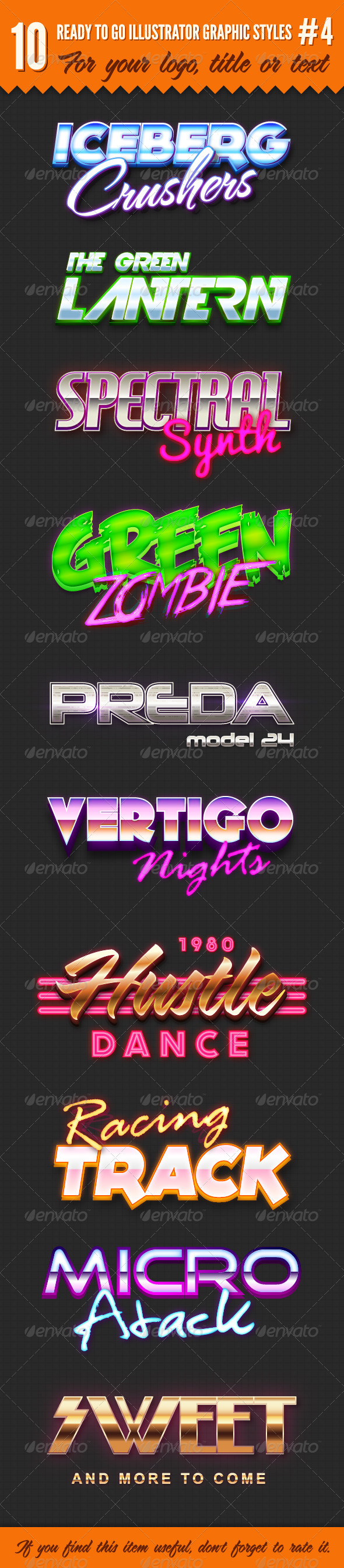 GraphicRiver 10 Logo Graphic Styles #4 4690870