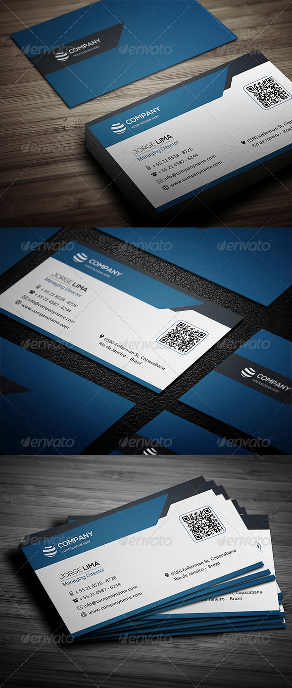 GraphicRiver Corporate Business Card 001 4691206