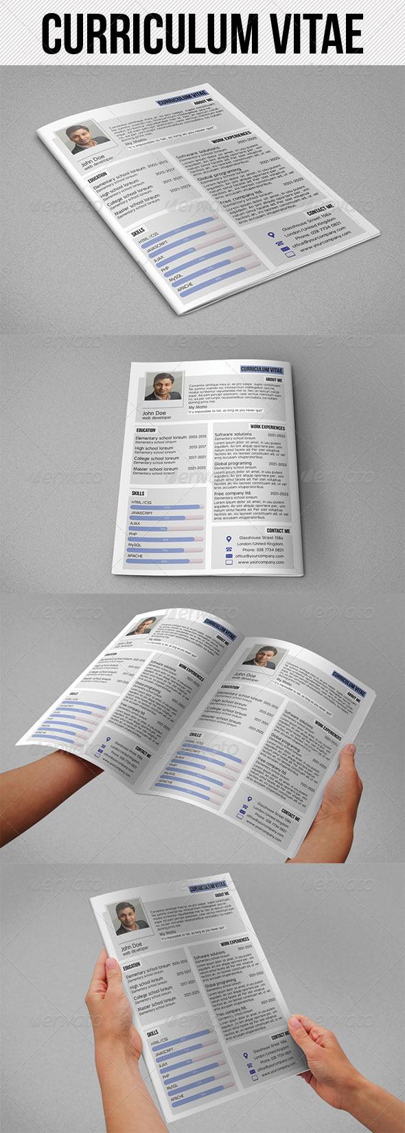 GraphicRiver Curriculum Vitae 4691225