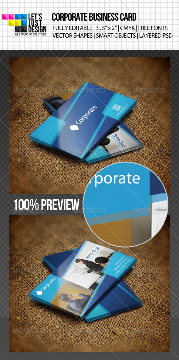 GraphicRiver Corporate Business Card 4692354