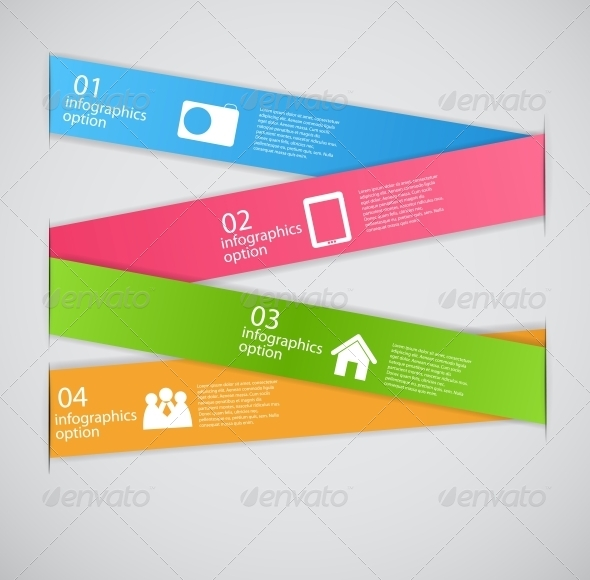 GraphicRiver Infographic Template Business Vector Illustration 4692586