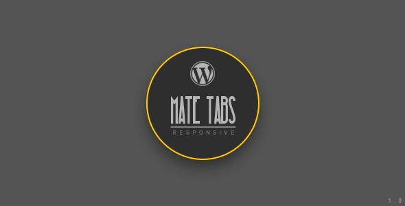 CodeCanyon Mate Tabs Wordpress Plugin 4692611