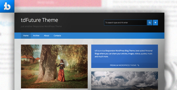 ThemeForest tdFuture WordPress Theme 4681778