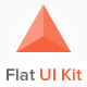 Flat UI Kit - GraphicRiver Item for Sale
