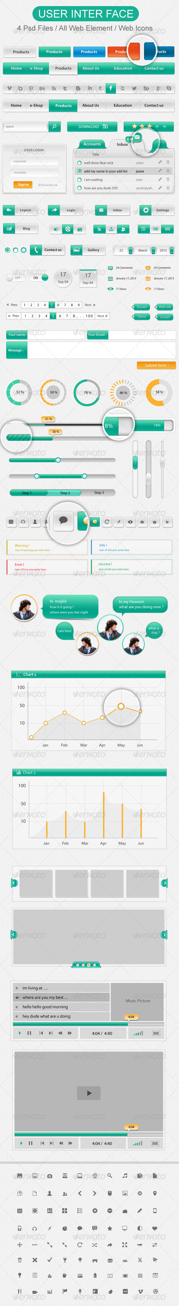 GraphicRiver Web Element Creative Colors 4682761