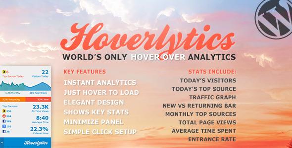 CodeCanyon Hoverlytics 4686077