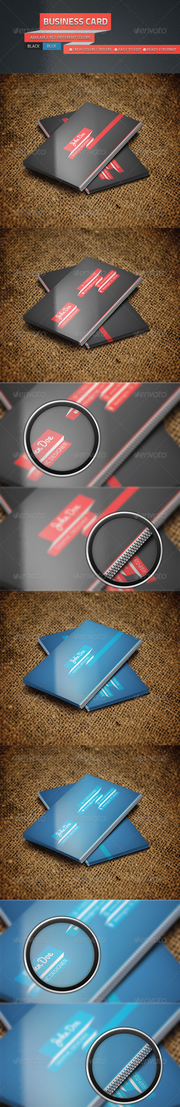 GraphicRiver Personal Business Card Set 4694436