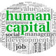 Human capital concept in tag cloud - PhotoDune Item for Sale