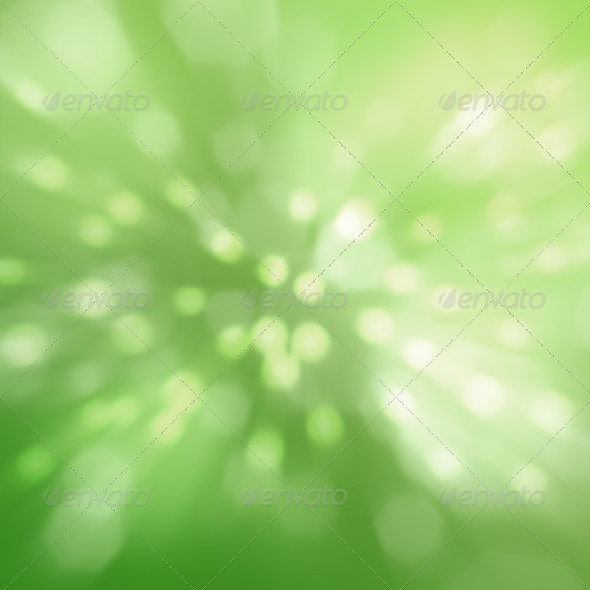 Abstract green in spring - Stock Photo - Images