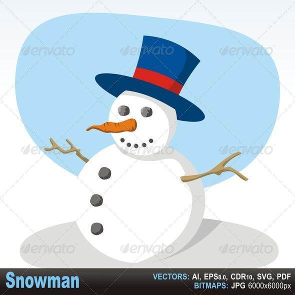 GraphicRiver Snowman 4695641