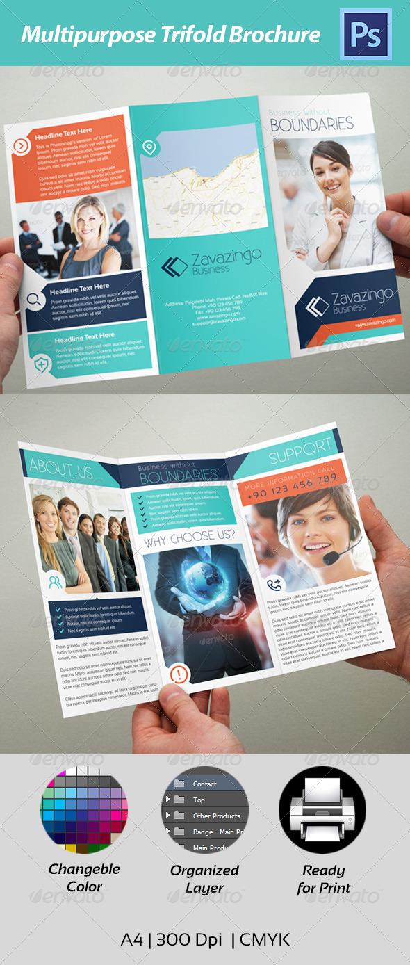 GraphicRiver Trifold Brochure 4615568