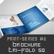 Brochure Tri-Fold Square Print-Series #2 - GraphicRiver Item for Sale