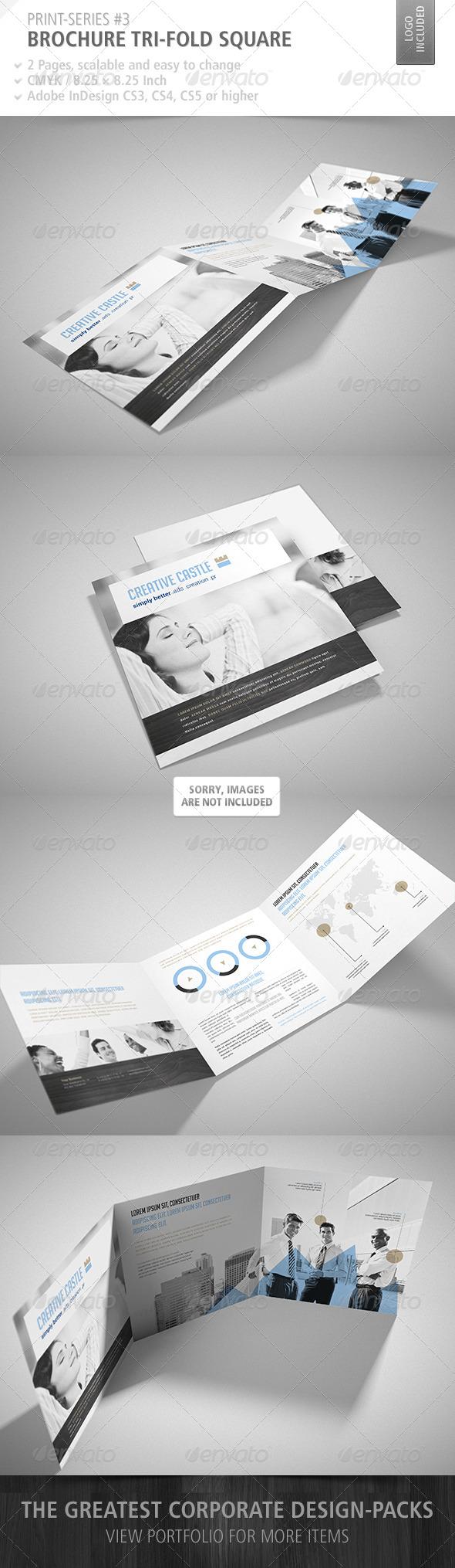 GraphicRiver Brochure Tri-Fold Square Print-Series #3 4696355
