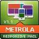 MetroLa - Metro Style Responsive Email Template - ThemeForest Item for Sale