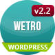 The Wetro - Creative WordPress Theme - ThemeForest Item for Sale
