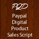 Paypal Quick Download: digital product sales