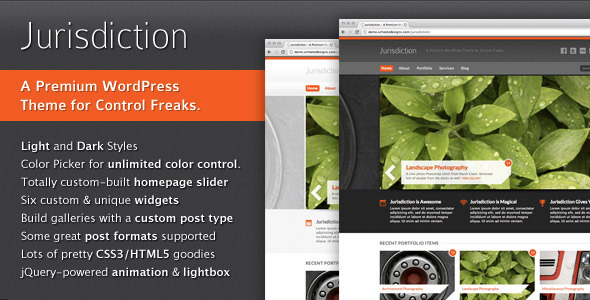 ThemeForest Jurisdiction 491015