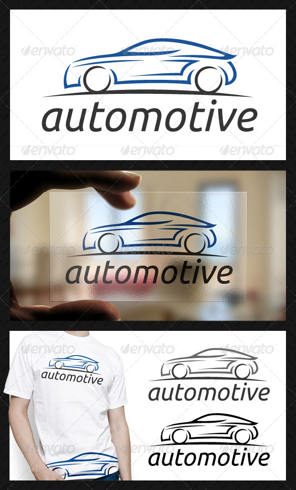 GraphicRiver Automotive Logo Template 4698171