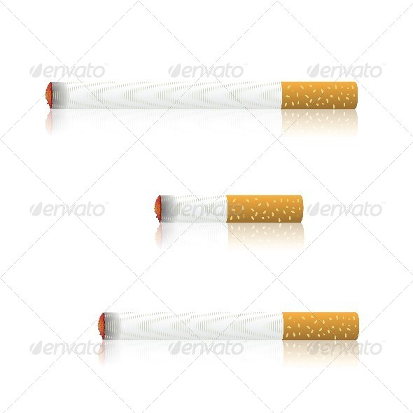 GraphicRiver Burning Cigarettes 4698179