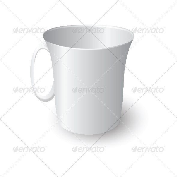 GraphicRiver White Coffee Mug 4698215