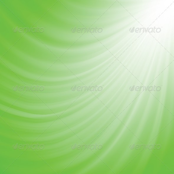 GraphicRiver Bright Green Abstract Background 4698265