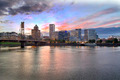 Portland Oregon Skyline at Sunset - PhotoDune Item for Sale