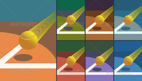 GraphicRiver Victory Tennis Ball 4698522