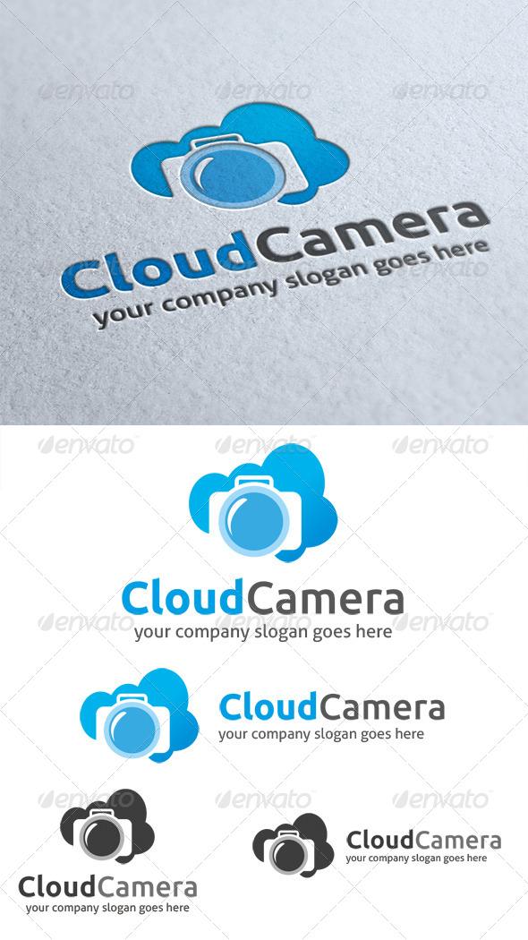 GraphicRiver Cloud Camera Logo 4656841