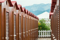 brown beach hut in Italy - PhotoDune Item for Sale