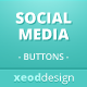 Sleek Social Media Buttons Pack - GraphicRiver Item for Sale