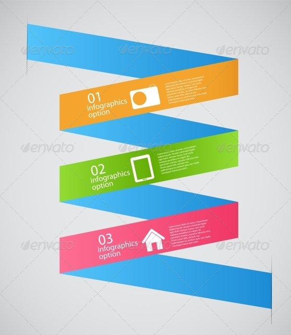 GraphicRiver Infographic Template Business Vector Illustration 4699582