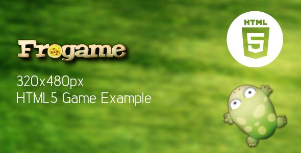 CodeCanyon Frogame HTML5 Template 4699728