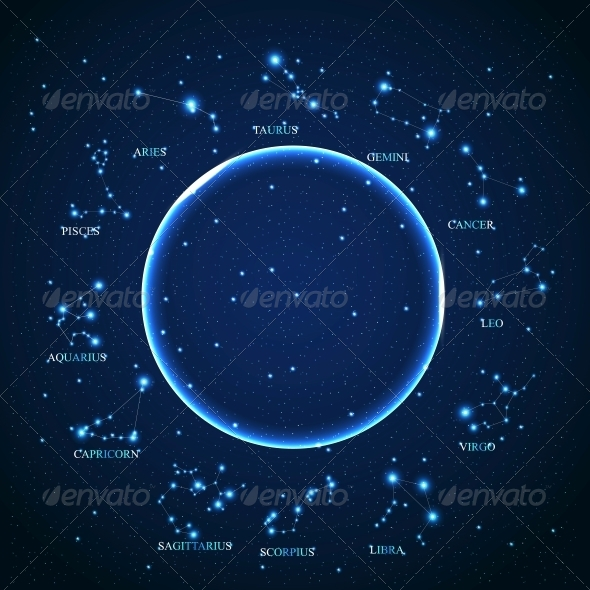GraphicRiver Zodiac Sign Vector 4699729