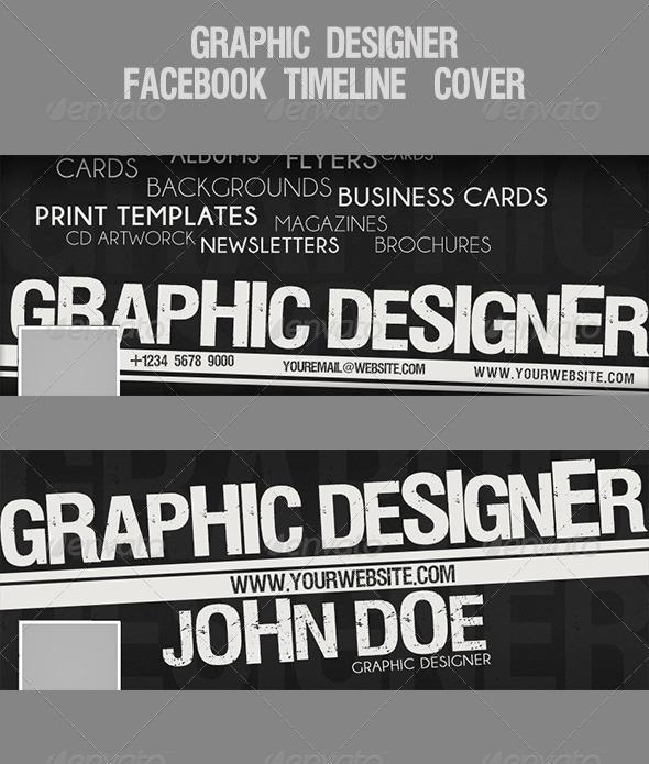 GraphicRiver Graphic Designer Facebook Timeline-Cover 4699918